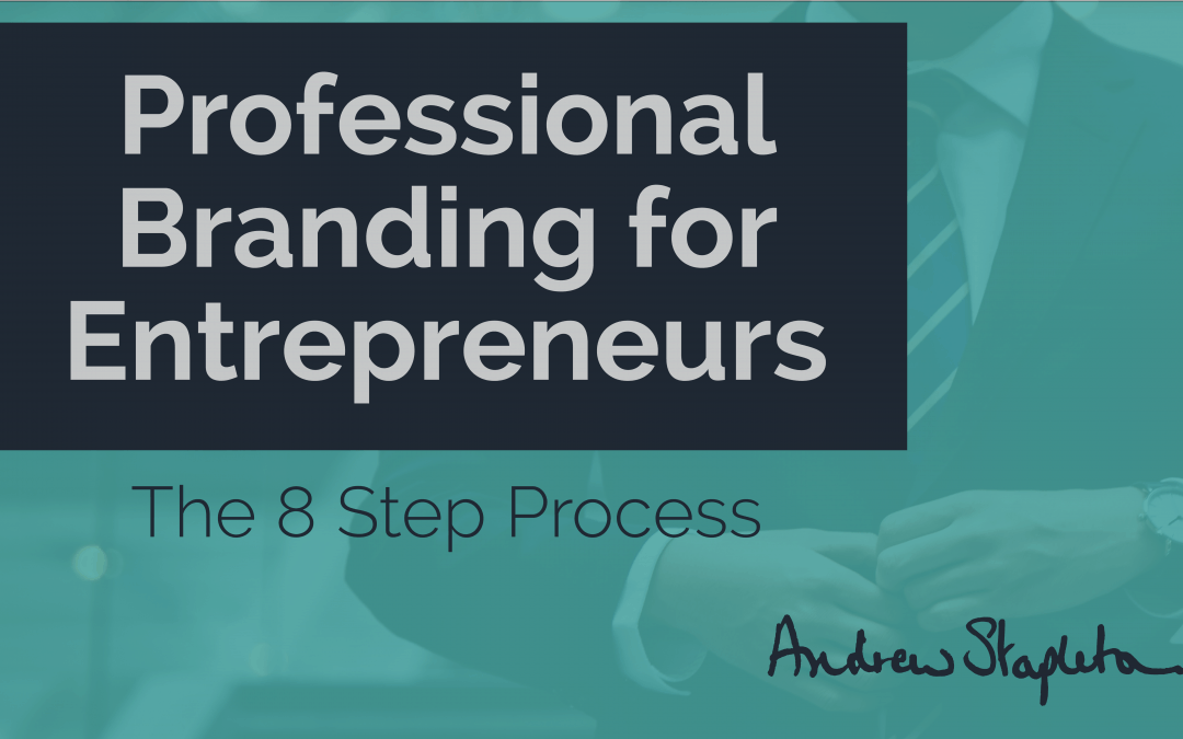 Professional branding for entrepreneurs